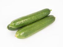绿色水果黄瓜摄影图