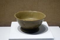 唐代越窯青瓷花口杯