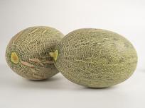 完整哈密瓜水果高清图片