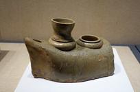 西晉越窯青瓷灶
