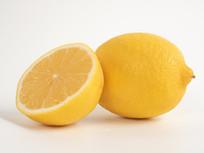 新鲜柠檬摄影图