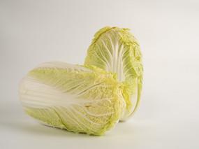新鲜蔬菜大白菜正面图