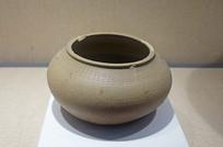 原始瓷水波纹罐