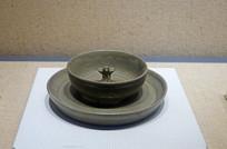 越窯青瓷飛鳥紋盞盤