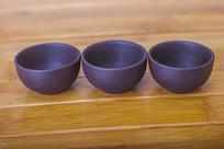 三个工艺茶杯