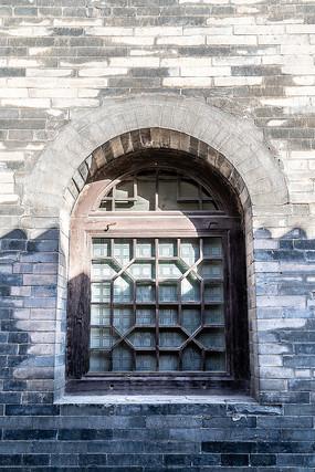 山西省王家大院有传统特色的窗户