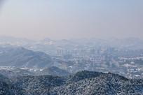 雪后的杭州