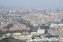 雪后杭州建筑