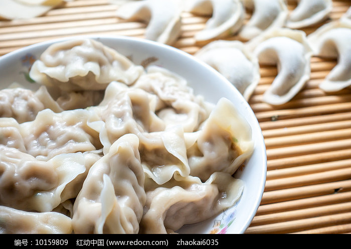 中国传统美食饺子图片