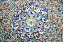 中国天津瓷房子对称布局