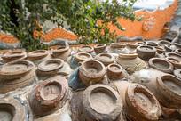 中国天津瓷房子墙壁