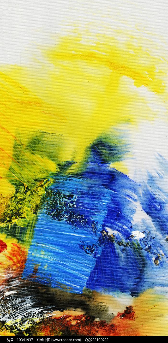 抽象画玄关壁画 图片