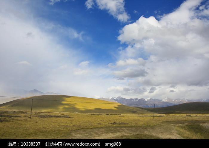 祁连山草地图片