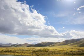 祁连山大草原