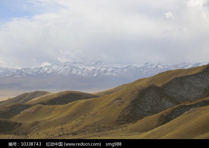 祁连山雪山山脉图片