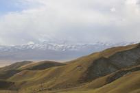 祁连山雪山山脉