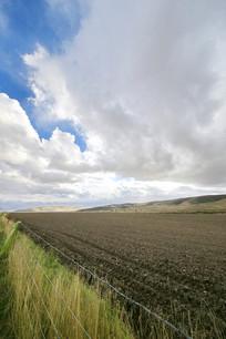 青藏高原农田土地