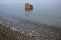 青海湖岸边