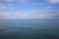 青海湖风平浪静