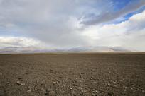 一望无际的牧场土地