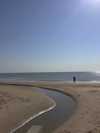 北戴河海边