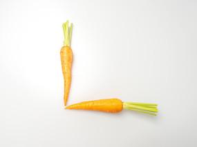 水果胡萝卜摄影图片
