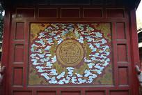 北京故宫宫殿屏风