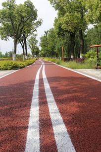 都市休闲单车道