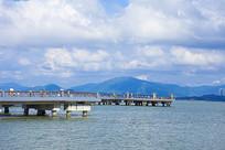 深圳湾海景