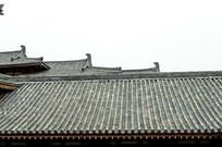 古建筑楼顶