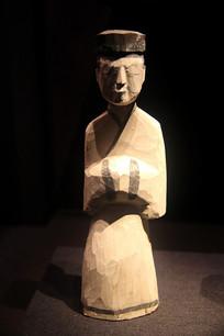 汉代彩绘木俑