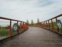 太湖湿地廊桥