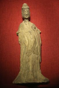 彩绘影塑供养菩萨像