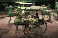 东汉青铜马车队
