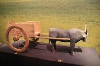 汉代彩绘牛车