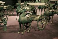 青铜马车东汉