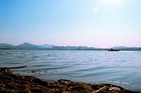 汉江江面下的风景