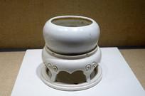 清代德化窑白瓷灯