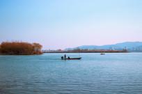 襄阳月亮湾公园汉江游边