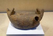 战国印纹硬陶船形壶