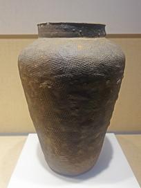 战国印纹硬陶大罐