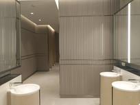 清洁卫生间