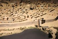 革命圣地延安城沙盘模型
