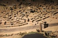 革命圣地延安中共旧址模型