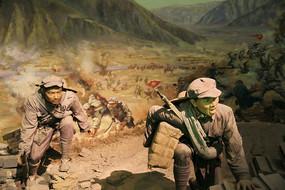 直罗镇战斗中的红军战士