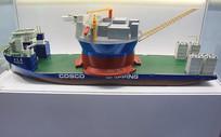10万吨半潜船模型