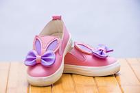 粉色的小女鞋