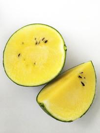 静物黄瓤西瓜