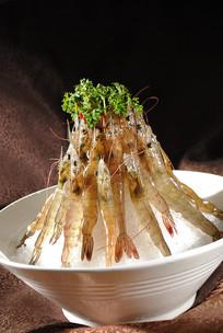生猛麻中虾