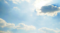 蓝天白云摄影图